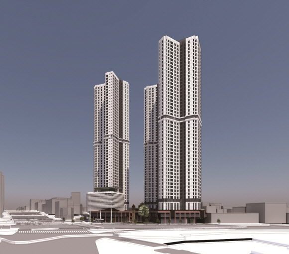 MIXED-USE RESIDENTIAL BUILDING PLAN, GAMSAM-DONG, DAEGU