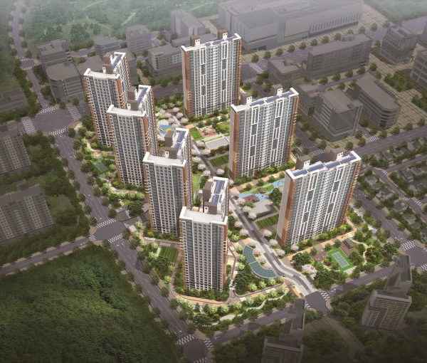 시흥 장현 4블럭 공동주택